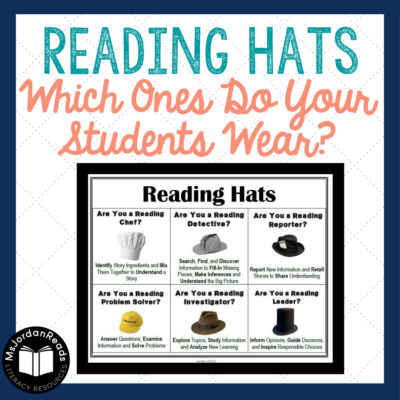 Reading Hats: Which ones do you wear for learning?