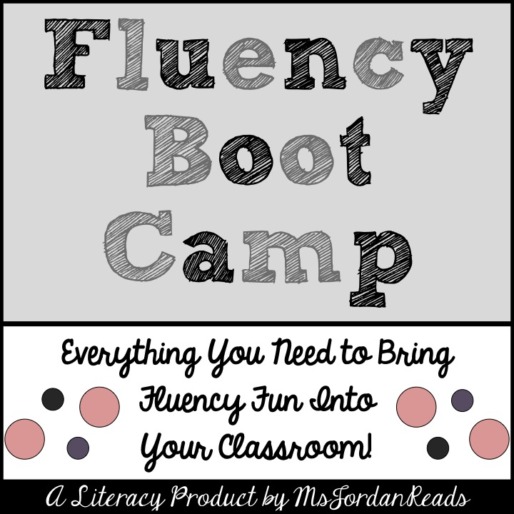 """Fluency Boot Camp"" includes everything you need to get started with fluency in your classroom!  This 90+ page product is perfect for introducing FLUENCY and it's four major components: pace, phrasing, expression, and punctuation. Each day (or week!), you can introduce a new fluency component with modeling and practice. A menu of fluency activities are included, along with all the materials to go with each!"