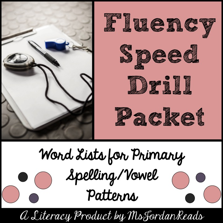 Fluency boot camp msjordanreads this 50 page product is perfect for bringing fluency speed drills into your classroom during literacy fandeluxe Image collections