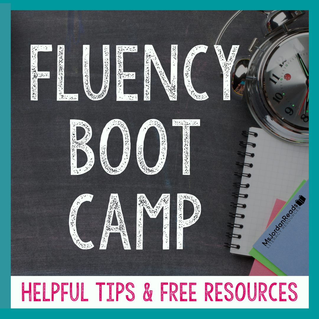 photo about Fluency Graph Printable named Fluency Boot Camp - MsJordanReads