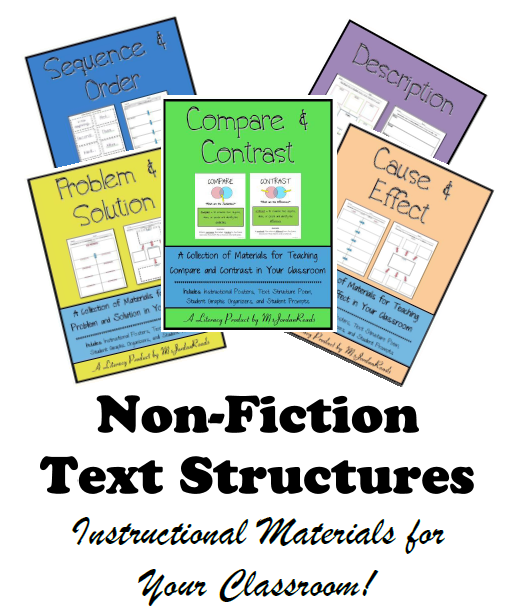 Non fiction text structures msjordanreads save sciox Gallery