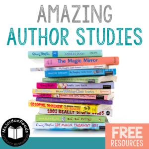 Amazing Author Studies | Ideas & resources for integrating engaging author studies into your ELA curriculum. Free literacy resources included to help you get started!