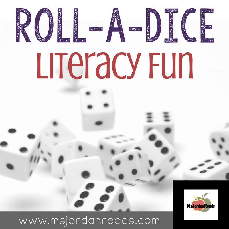 Roll a Dice Literacy Fun