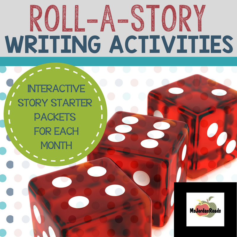 Roll-a-Story Writing Activities PROMO