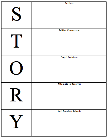 Introducing Fiction Text Structure with S.T.O.R.Y ...