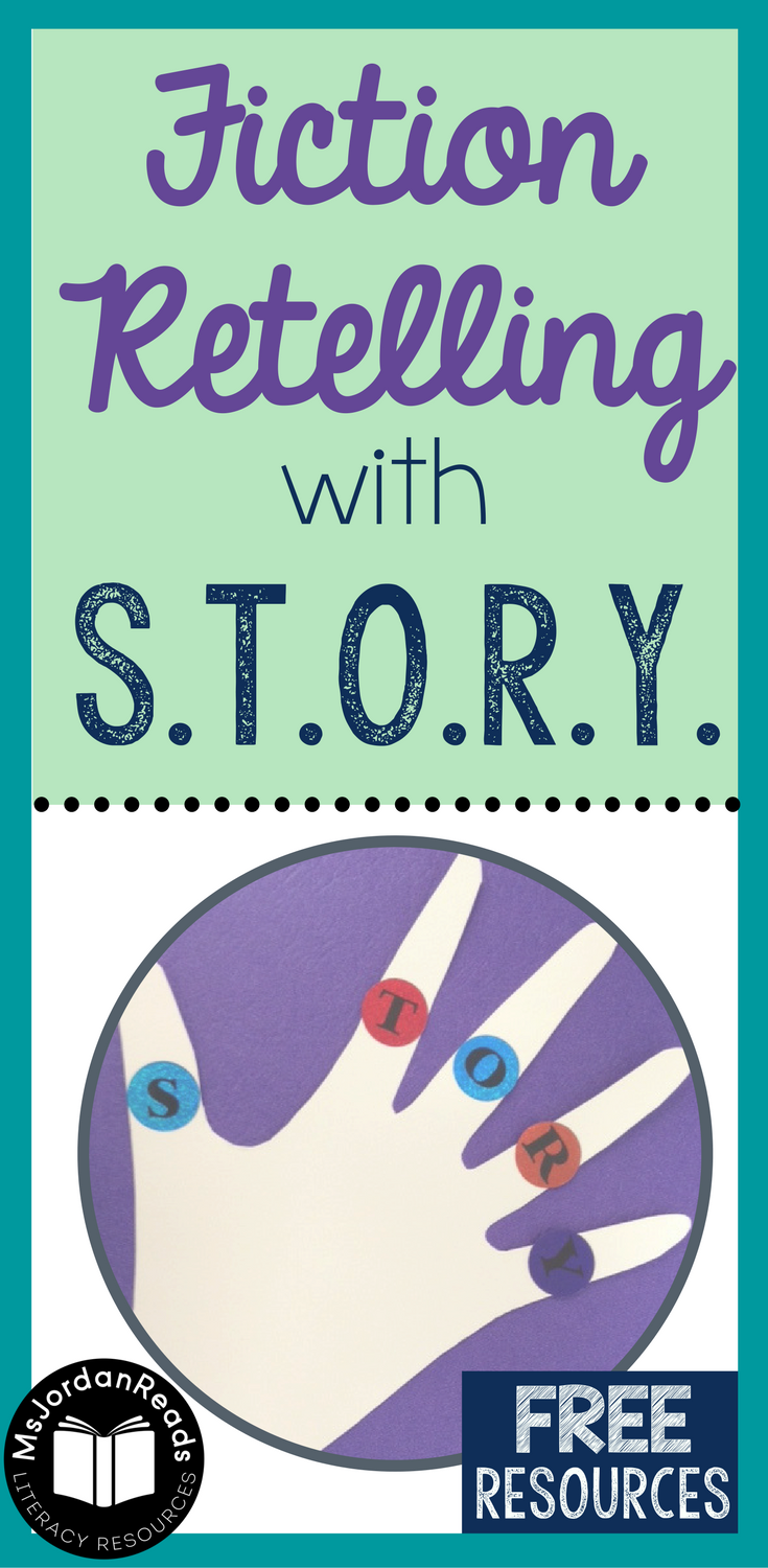 Fiction Retelling using the acronym S.T.O.R.Y. to help students identify all the story elements | A focus on fiction text structure, story elements, and fiction retelling!
