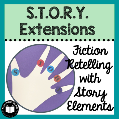 Teaching Fiction Text Structure with S.T.O.R.Y. | A poem and graphic organizer for learning and understanding story elements for fiction texts.