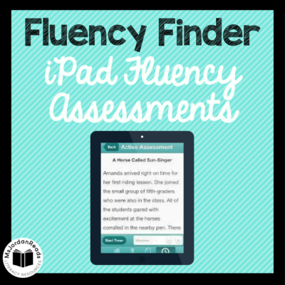 Fluency Finder iPad App Review | Quick and easy fluency assessments and progress monitoring using fluency passages on the iPad app.