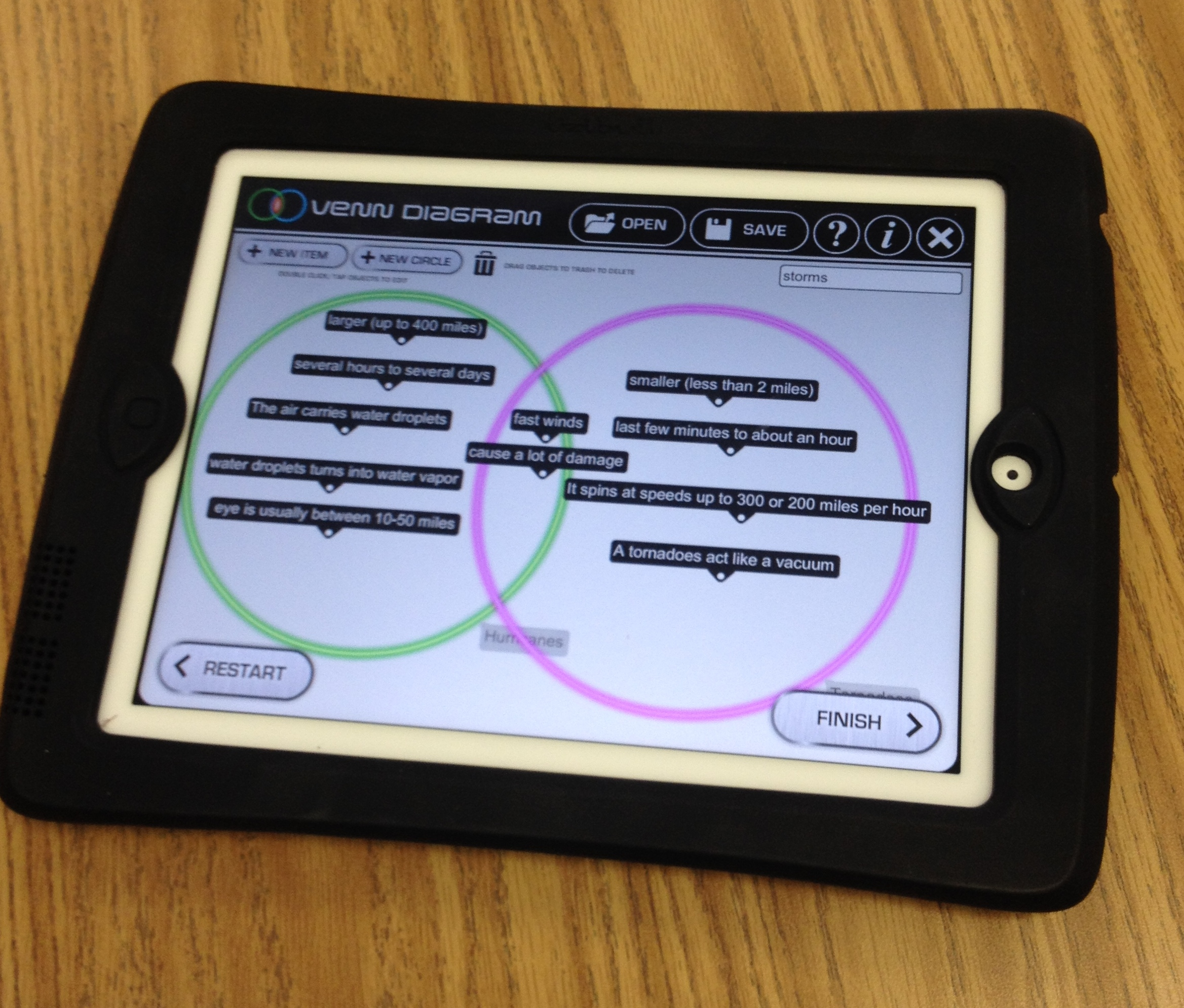 Exploring Nonfiction Text Structures Using Ipads