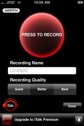 italk-iphone-app