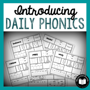 Daily Phonics Monthly Resources | Ready-to-use phonics practice pages to support students in identifying sound and word phonics patterns within words. Great for warm-ups, literacy centers, and small groups.