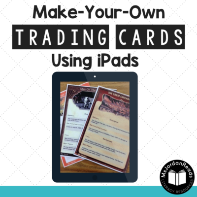 Make Your Own Trading Cards Using iPads