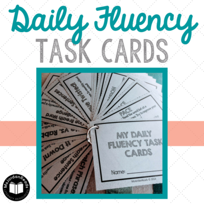 Daily Fluency Task Cards