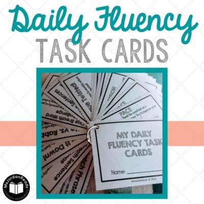 Daily Fluency Task Cards