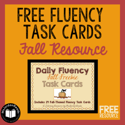A Harvest-Themed Fluency Freebie