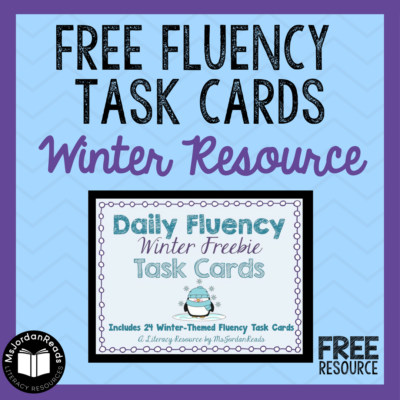 A Winter Fluency Freebie