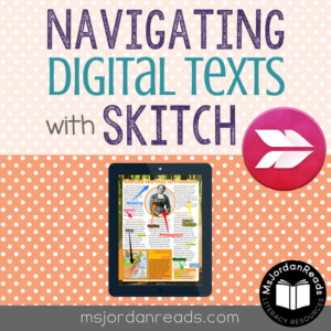 Navigating Digital Texts with Skitch - Blog Post by MsJordanReads