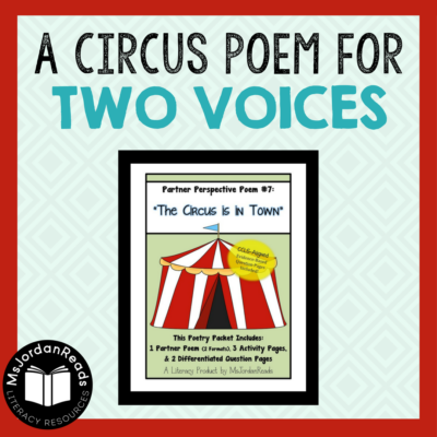 Interactive partner poem to increase reading fluency in the classroom. Learn more about this literacy resource and the comprehension activities included.