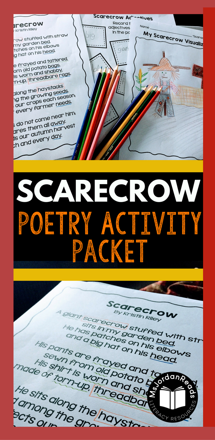 FREE Fall Scarecrow Poem for Teaching Fluency | Blog post about bringing some fluency fun into your classroom this autumn.