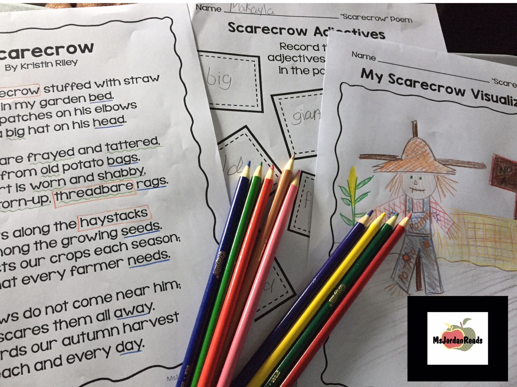 Scarecrow Poetry Resource