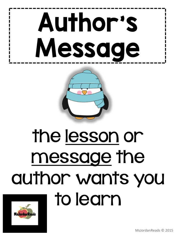 Teaching Author's Message with Penguin & Pinecone