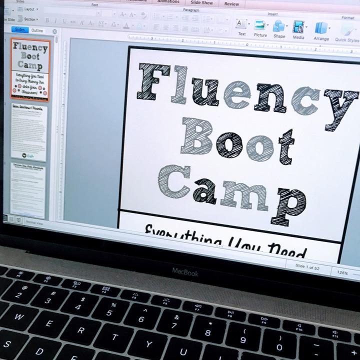 Fluency Boot Camp Update