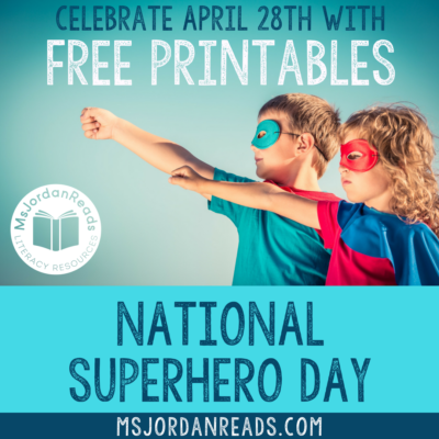 Classroom Activities for National Superhero Day | Celebrate your inner superhero with printable class books, bulletin board displays, masks, bookmarks, and read-alouds! | Free Printables | Freebies | Character Traits