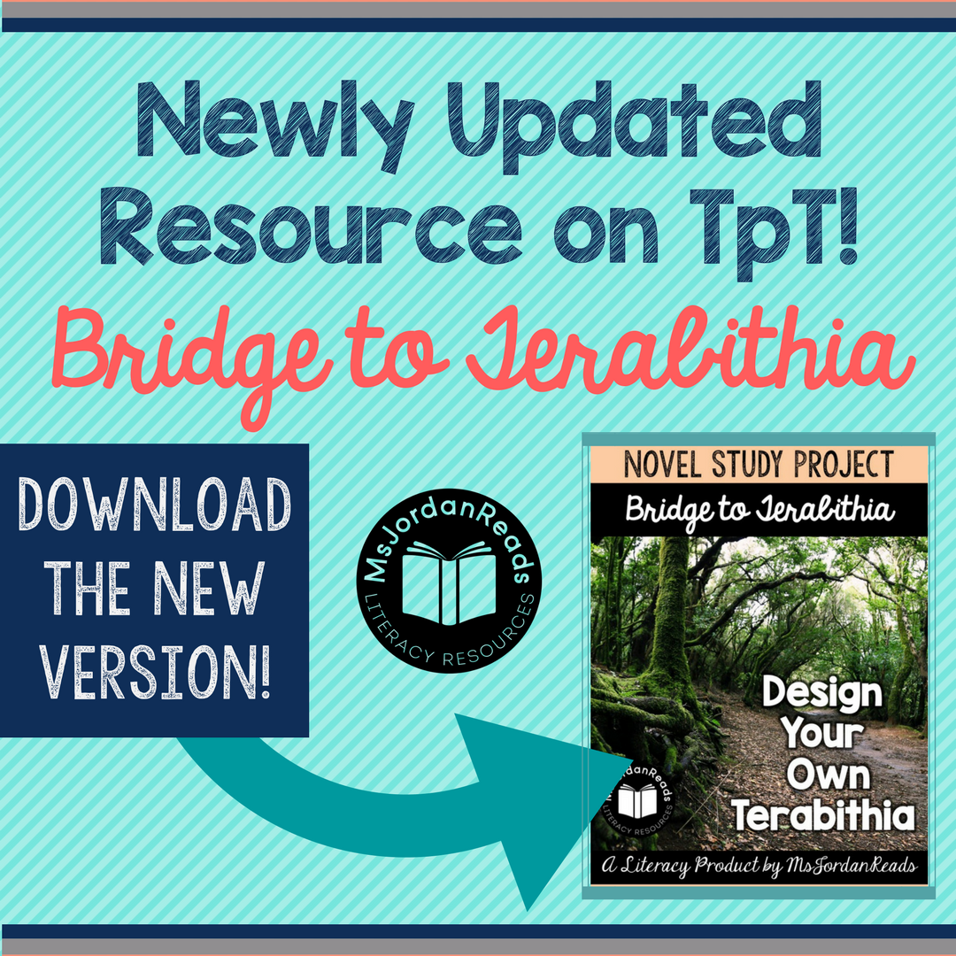 TpT Updated Resources AnnouncementTerabithia