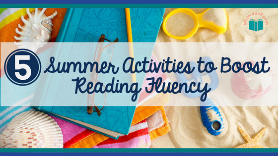 Help students boost summer reading fluency with these 5 interactive fluency activities | A FREE printable for parents is included to support student fluency development. By doing these activities, parents can help their children maintain reading skills and avoid the summer reading regression that usually occurs.