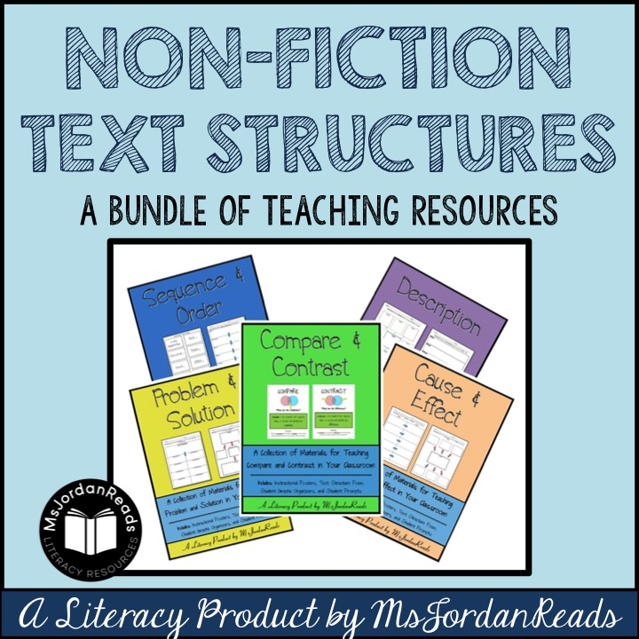 Nonfiction Text Structures Msjordanreads. Worksheet. Elements Of Nonfiction Worksheet At Clickcart.co