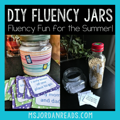 DIY Fluency Jars