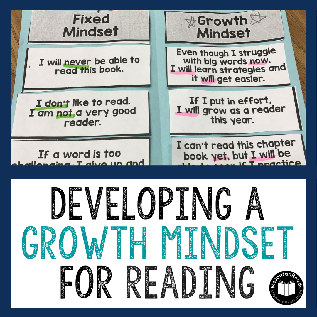 A Growth Mindset Could Buffer Kids From >> Developing A Growth Mindset For Reading Msjordanreads