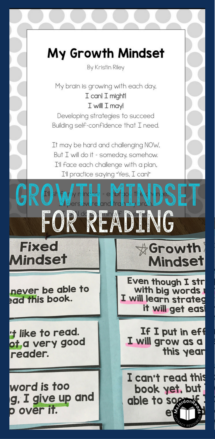Developing A Growth Mindset For Reading Msjordanreads