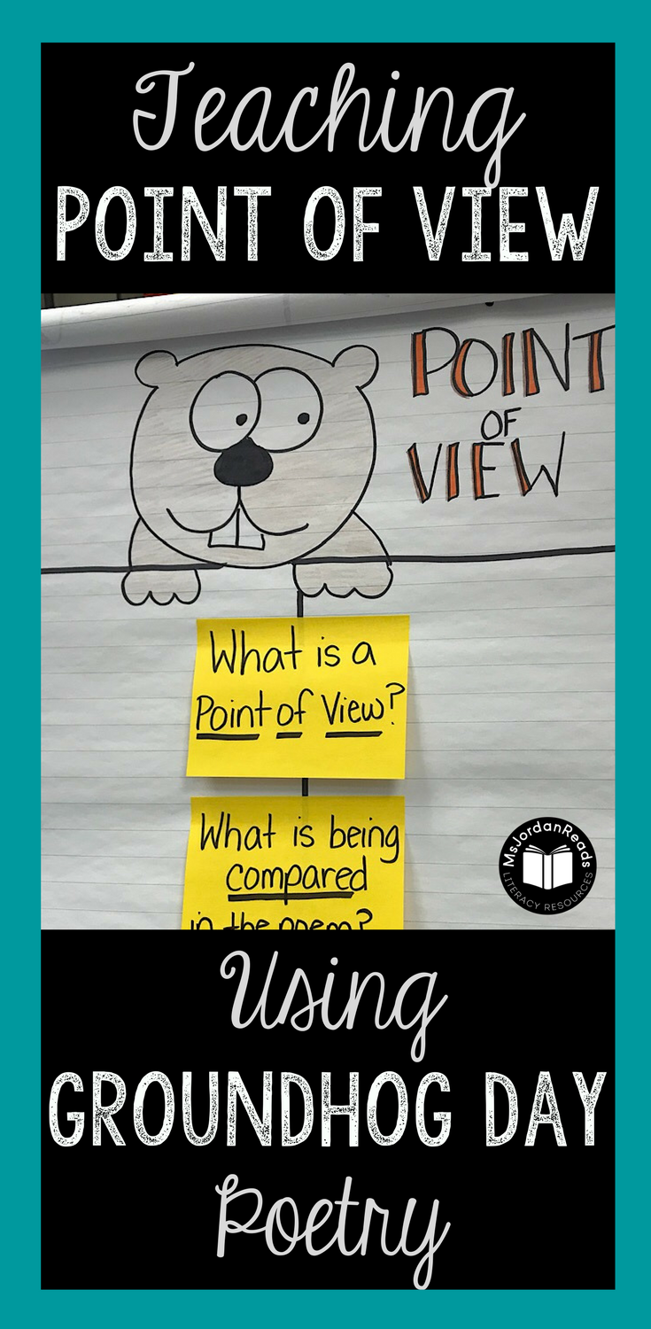 A blog post about using Groundhog Day poetry to teach perspective and point of view in the classroom. Students will love learning about the groundhog's point of view on Groundhog Day through a collection of poems. Perfect for practicing fluency and comprehension!